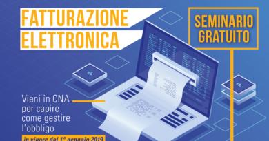 Fatturazione elettronica, il 16 novembre seminario gratuito a Ladispoli