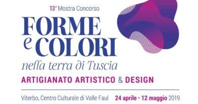 Forme e colori nella terra di Tuscia, grande risposta per la nuova formula della mostra concorso: domande entro il 15 marzo